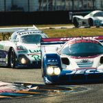 2014 24 Hours of Le Mans Racing Action